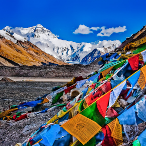 TIBETAN WINDHORSE PRAYER FLAGS