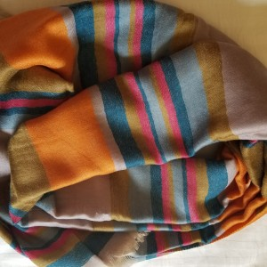 MULTICOLOUR PASHMINA SHAWL